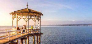 Blick auf Bregenzer See