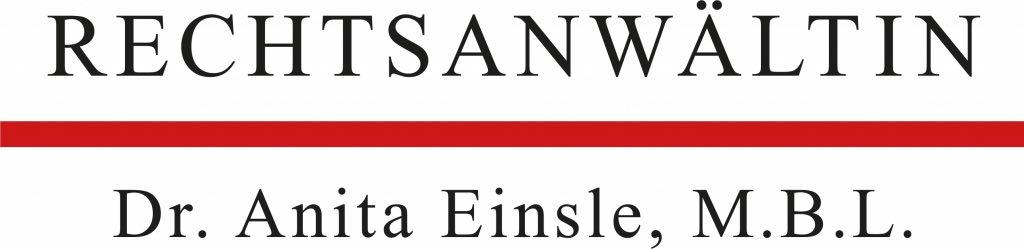Logo der Kanzlei Dr. Anita Einsle Bregenz