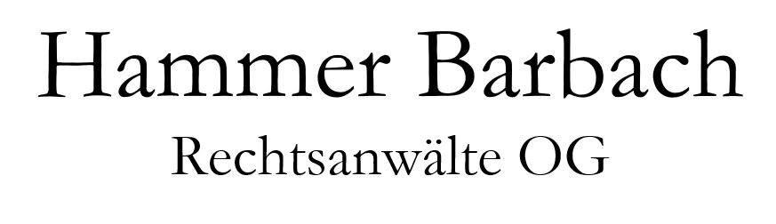 Hammer Barbach Rechtsanaelte Logo 1080 Wien