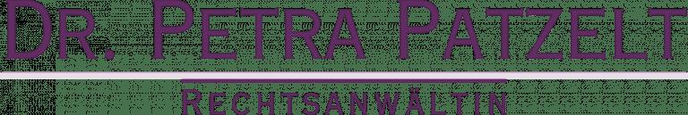 Dr. Petra Patzelt Kanzlei Logo Salzburg