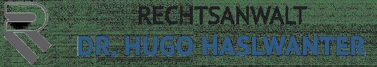 Kanzlei Dr. Hugo Haslwanter Logo