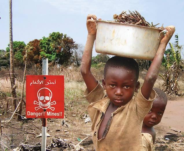 Projekt Gemeinsam gegen landminen