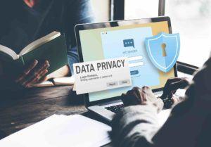 Datenschutz auf Webseite