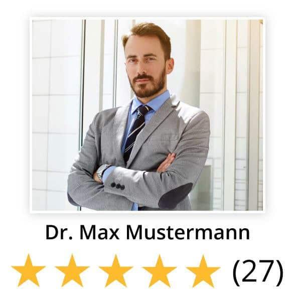 Mustermann-Profilbild-mit-Bewertung