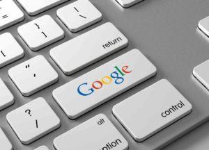Tastatur mit Google- Taste