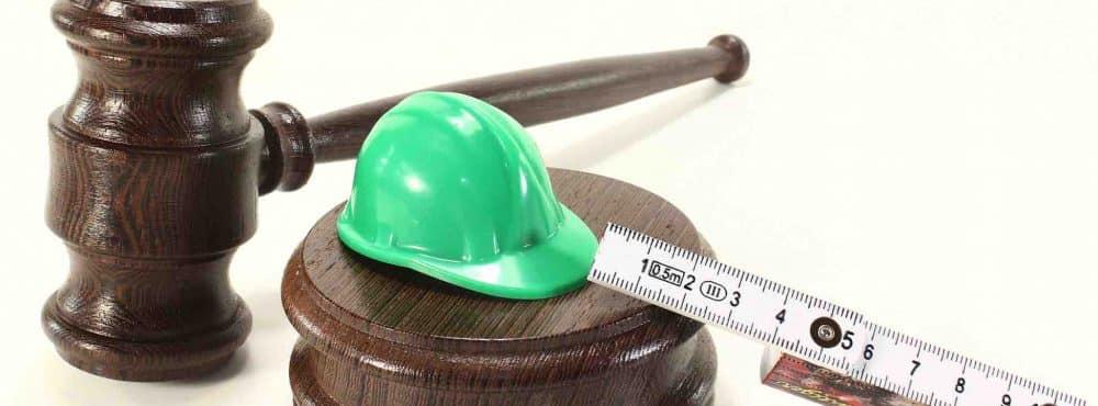 Zollstock Bauarbeiterhelm Hammer